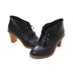 J. Jill booties boots lace up leather he